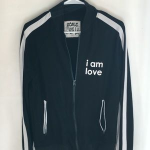 Peace Love World Jacket